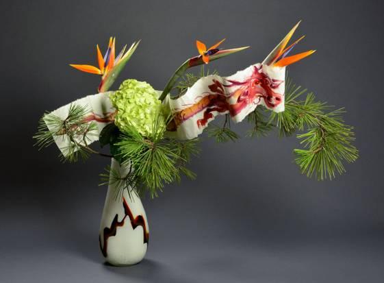 3 phong cách nghệ thuật cắm hoa ikebana cơ bản tại Nhật Bản 2