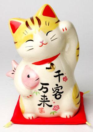 Phần 4 - Maneki Neko: Biểu tượng chú mèo thần tài của xứ phù tang