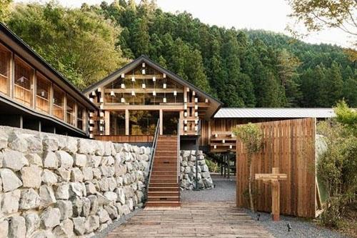 Khám phá nét đặc trưng trong kiến trúc Nhật Bản