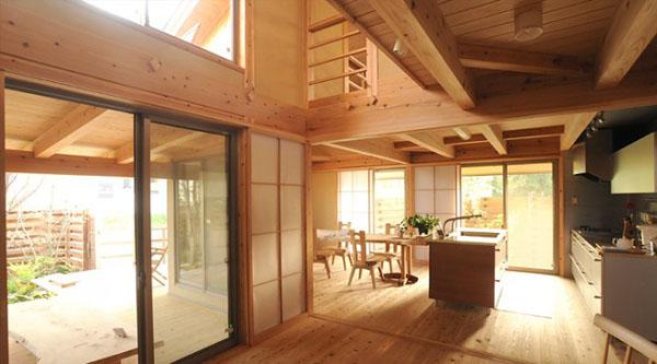 Tủ bếp kiểu Nhật