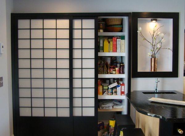 Cửa Shoji cho tủ bếp