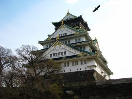 Lâu đài Nakatsu  Lâu đài Osaka