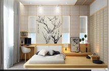 Trang trí phòng ngủ giản dị, tinh tế phong cách Nhật Bản