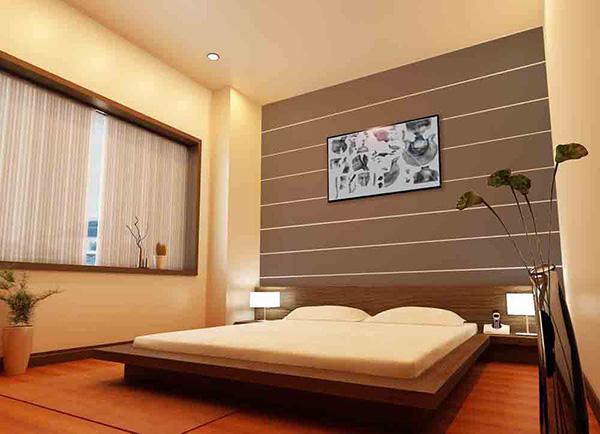 Màu sắc nọi thất phòng ngủ Nhật Bản
