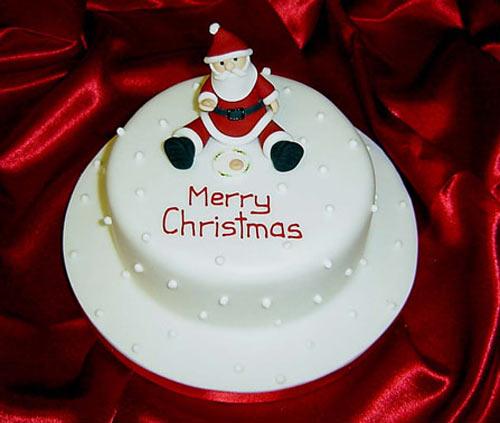 Ăn bánh Giáng sinh