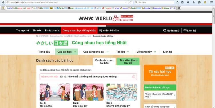 10 website học tiếng Nhật hữu ích bạn nên biết 1