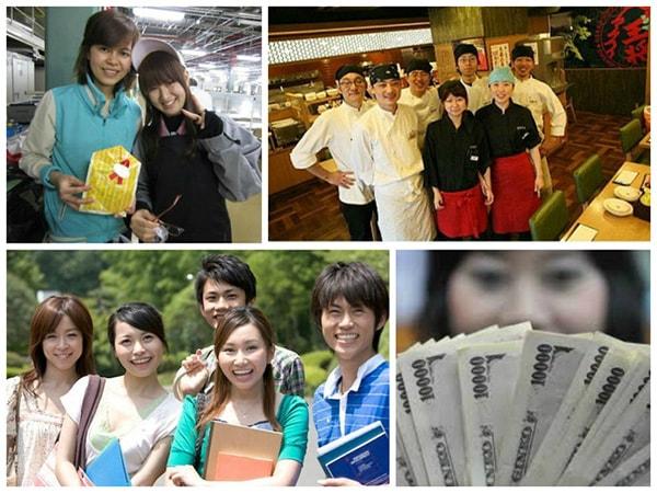 Vì sao du học sinh muốn vừa học vừa làm tại Nhật Bản?