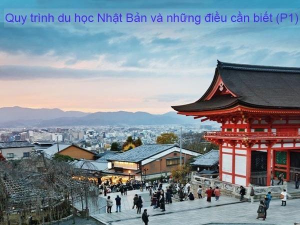 Quy trình du học Nhật Bản và những điều cần biết (P1)