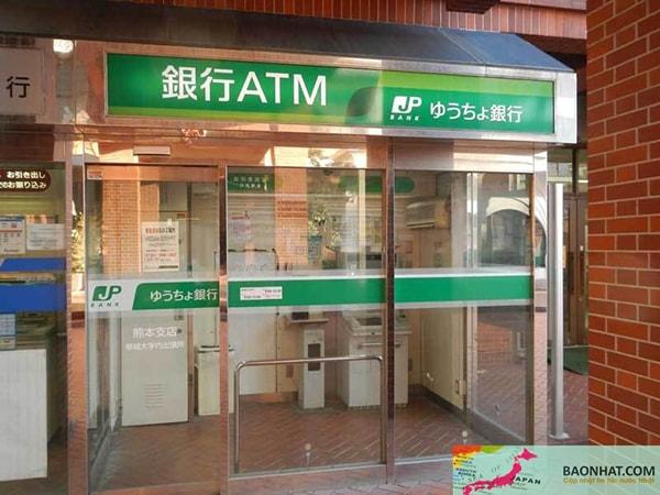 ATM ngân hàng Yucho Nhật Bản