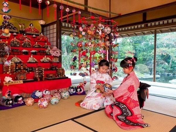 Những điều đặc biệt ở lễ hội búp bê Nhật Bản
