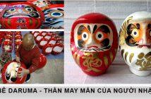 Búp bê Daruma - Tượng trưng cho thần may mắn của người Nhật 1