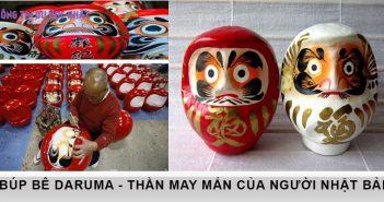 Búp bê Daruma - Tượng trưng cho thần may mắn của người Nhật 2