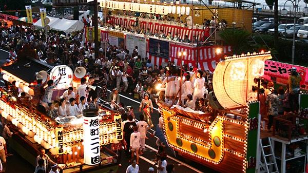 Lễ hội mùa hạ (Matsuri) Nhật Bản