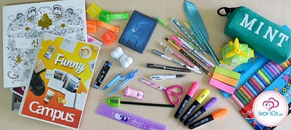 Những đồ dùng học tập cần thiết cho con