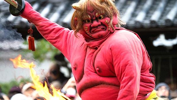 Lễ hội Setsubun là lễ hội xua ma quỷ lớn của Nhật Bản