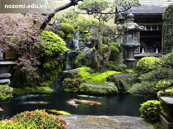 Độc đáo nhà vườn theo phong cách Nhật Bản