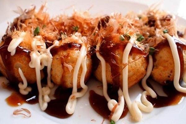 Bánh Takoyaki trong ẩm thực Nhật Bản