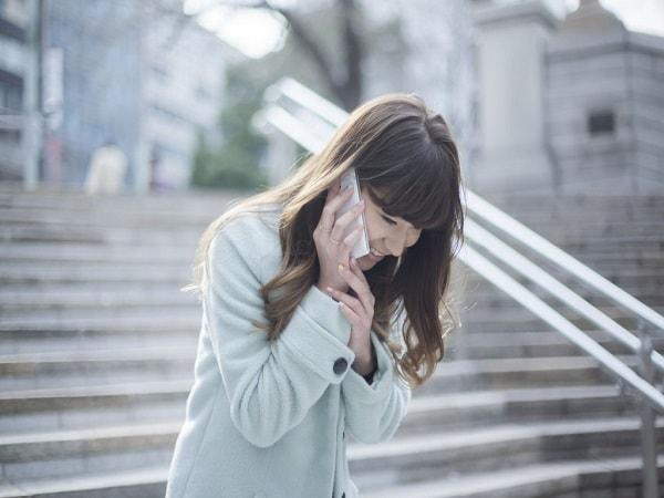 Người Nhật cúi chào ngay cả khi nghe điện thoại