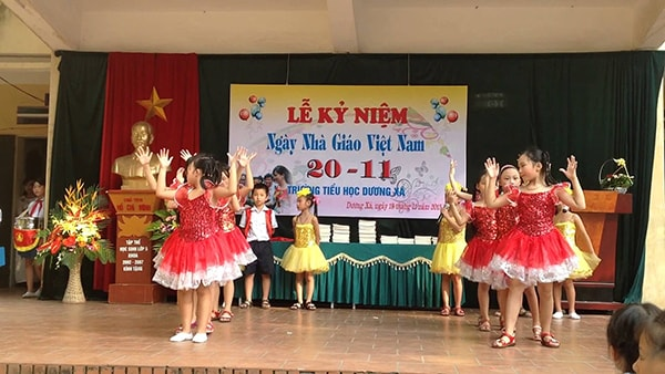 Trường tiểu học Dương Xá- trường tiểu học tốt nhất huyện Gia Lâm