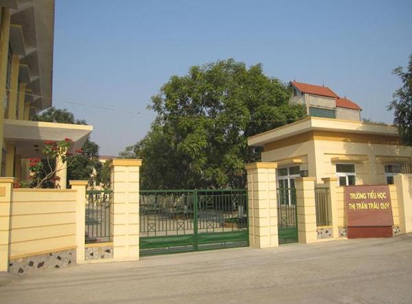Trường tiểu học Trâu Quỳ - trường tiểu học tốt nhất huyện Gia Lâm