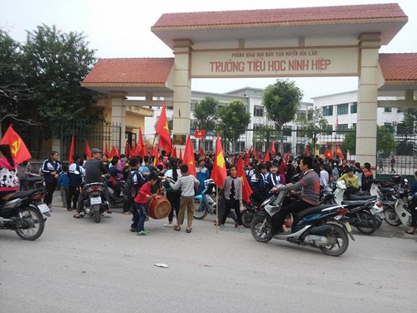 Trường Tiểu học Ninh Hiệp - trường tiểu học tốt nhất huyện Gia Lâm