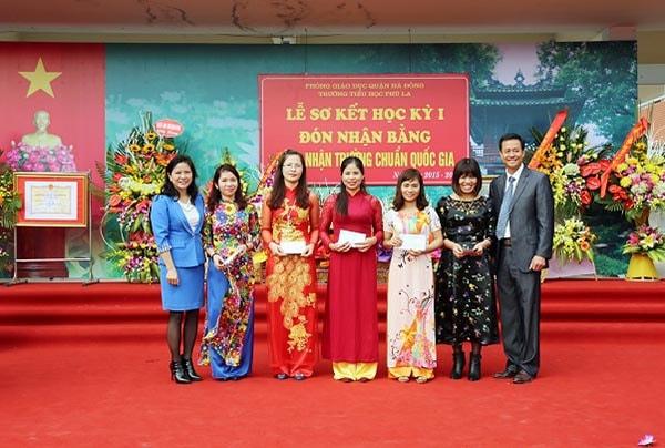 trường tiều học tốt nhất quận Hà Đông - Trường tiểu học Phú La