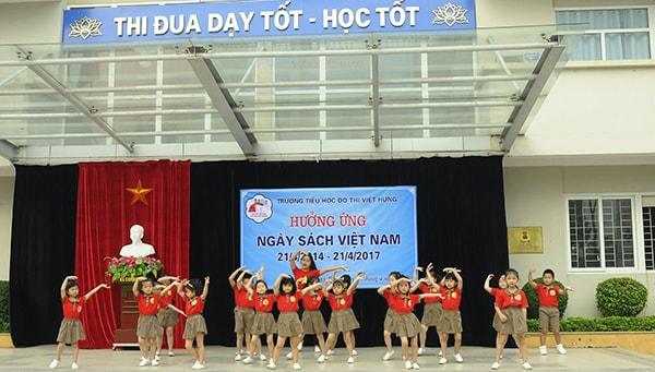 Trường tiểu học đô thị Việt Hưng