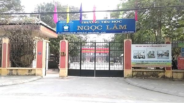 Trường tiểu học Ngọc Lâm