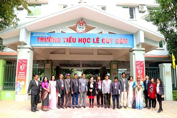 Trường tiểu học Lê Quý Đôn -  trường tiểu học tốt nhất quận Từ Liêm