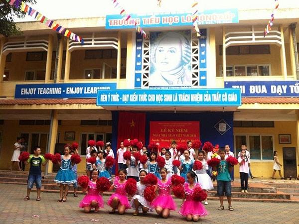 Trường tiểu học Dân lập Lômônôxốp - trường tiểu học tốt nhất quận Từ Liêm