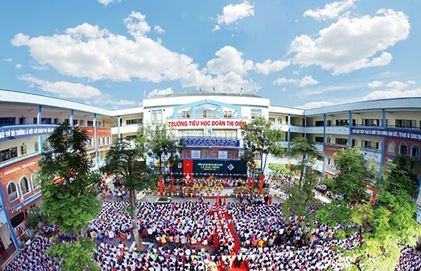 Trường tiểu học Đoàn Thị Điểm - trường tiểu học tốt nhất quận Từ Liêm