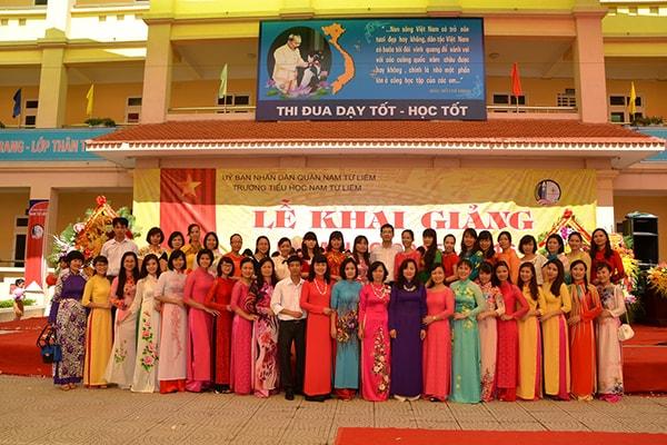 Trường tiểu học Nam Từ Liêm - trường tiểu học tốt nhất quận Từ Liêm