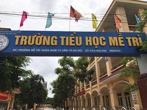 Trường tiểu học Mễ Trì - trường tiểu học tốt nhất quận Từ Liêm
