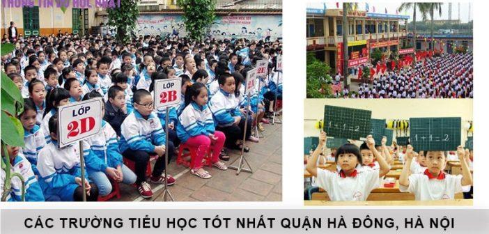Top 10 trường tiểu học tốt nhất quận Hà Đông, Hà Nội 1