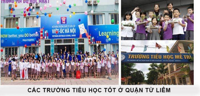 Top 10 trường tiểu học tốt nhất quận Từ Liêm 1
