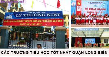 Top 10 trường tiểu học tốt nhất quận Long Biên 3