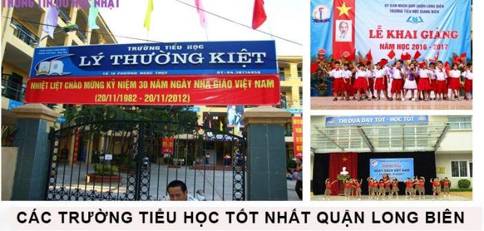 Top 10 trường tiểu học tốt nhất quận Long Biên 1