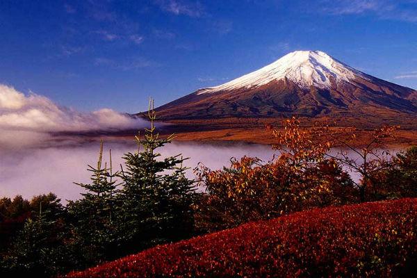 Núi Phú Sĩ vào mùa thu
