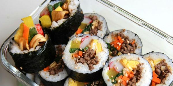 Sushi hải sản