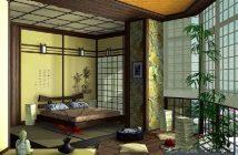Nét đặc trưng trong phòng ngủ của người Nhật