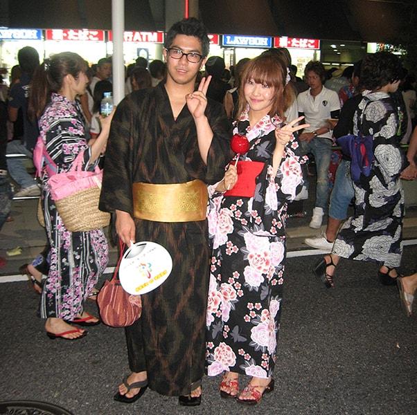 Trang phục được sử dụng trong lễ hội Obon