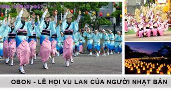 Lễ hội Obon - Lễ Vu Lan của người Nhật Bản 3