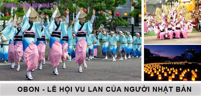 Lễ hội Obon - Lễ Vu Lan của người Nhật Bản 1
