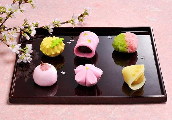 Wagashi là một món bánh truyền thống của Nhật Bản