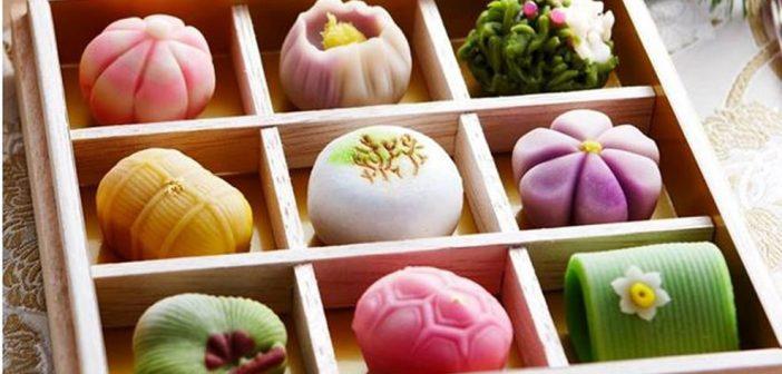 Nghệ thuật làm bánh Wagashi cầu kỳ của người Nhật