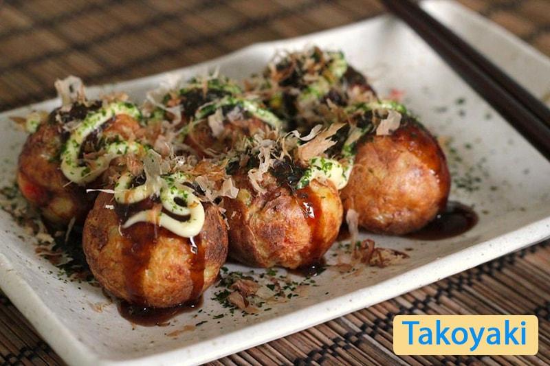 Takoyaki - Bạch tuộc nướng