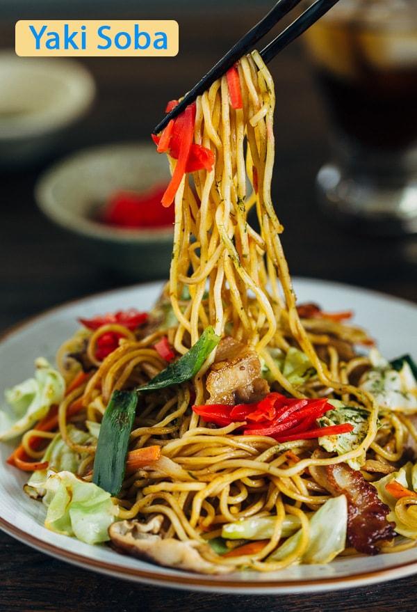 Yaki Soba - Một loại mỳ của người Nhật