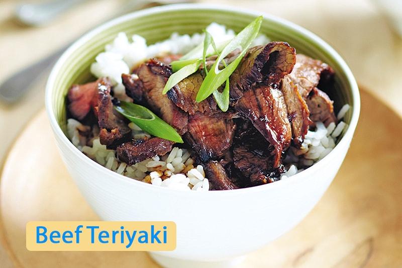 Món thịt bò Teriyaki