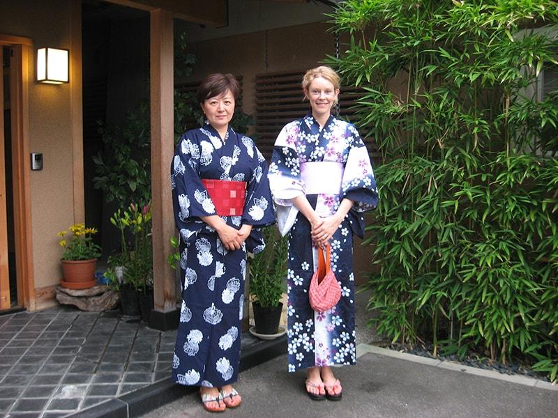 Yukata nữ - trang phục truyền thống của phái nữ trong lễ hội Obon