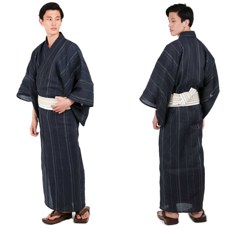Yukata nam- trang phục truyền thống của phái nam trong lễ hội Obon